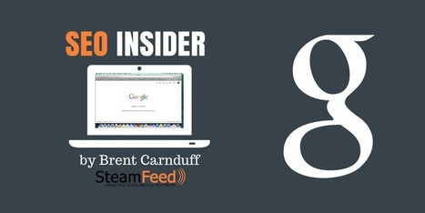 Your SEO Insider No. 54: Local SEO and Content Marketing | Content Creation, Curation, Management | Scoop.it