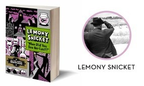 5 Questions for Lemony Snicket + Book Giveaway! | Raising Readers | Scoop.it