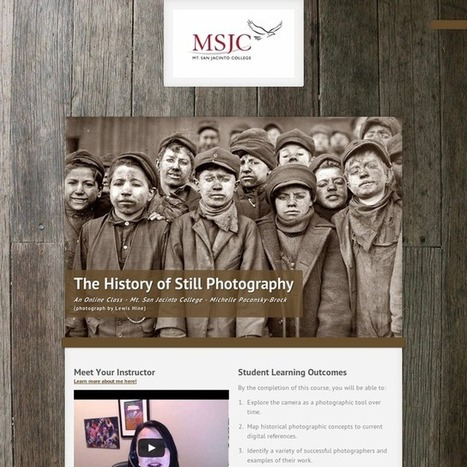 A Visual Syllabus: History of Still Photography | Graphic and Curation Tools | Scoop.it