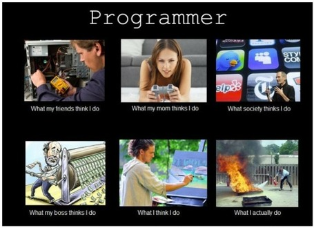 Programmer | What I really do | Scoop.it