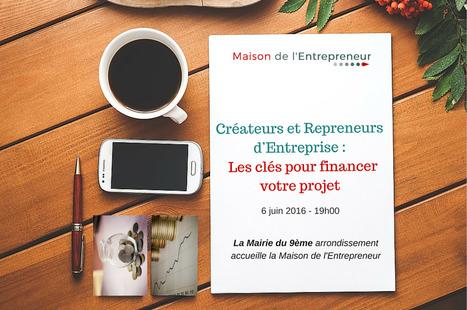 Conférence gratuite : financement - Mairie du 9ème   La création d'entreprise   Scoop.it