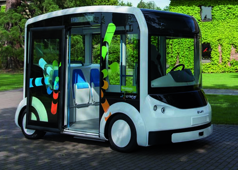 Lohr va tester le Cristal, une navette électrique à la demande, à Strasbourg - Rue89 Strasbourg | Développement durable, généralité et curiosité | Scoop.it