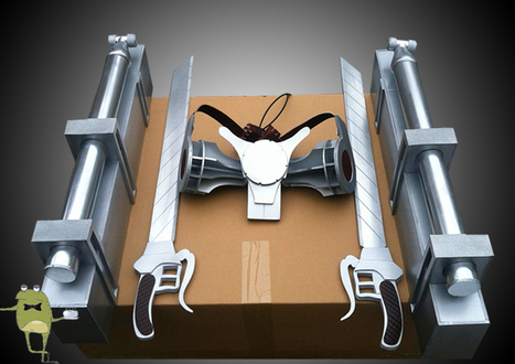 Attack on Titan 3D Maneuver Gear Cosplay for Sale | Attack on Titan Cosplay Costumes | Scoop.it