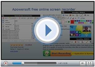 Apowersoft Free Online Screen Recorder - Web-based Screen recorder | Techy Stuff | Scoop.it