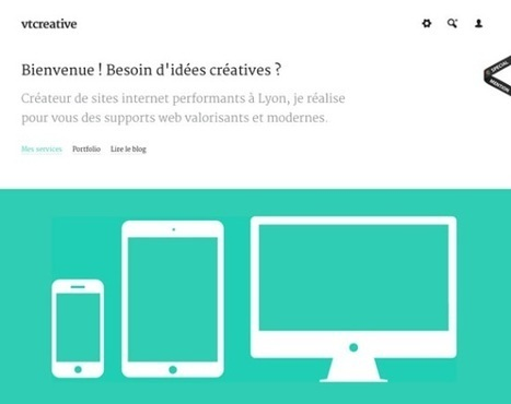 40 Fresh Examples of Flat Web Design | E-learning UX & Moolde | Scoop.it