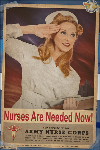 Nurses are Needed Now! via PinupLifestyle ♥The call for Nurses... | Sex History | Scoop.it