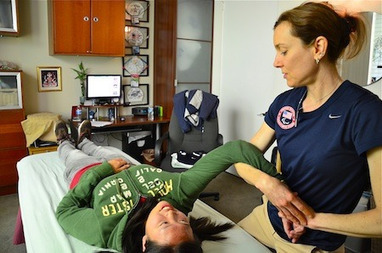 US Swimmers in Good Hands - Laguna Beach Independent | Massage Therapy | Scoop.it
