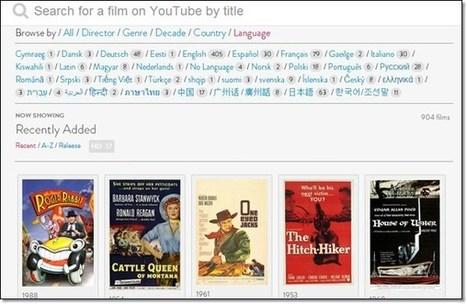 Comment trouver des longs métrage sur youtube | Time to Learn | Scoop.it