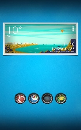 BW Beach UCCW Skin v1.0.1 | ApkLife-Android Apps Games Themes | Android Applications And Games | Scoop.it