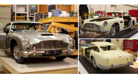Skyfall Filmmakers 3D-Printed This Rare Aston Martin So They Wouldn't Damage the Original | 3d printers and 3d scanners | Scoop.it
