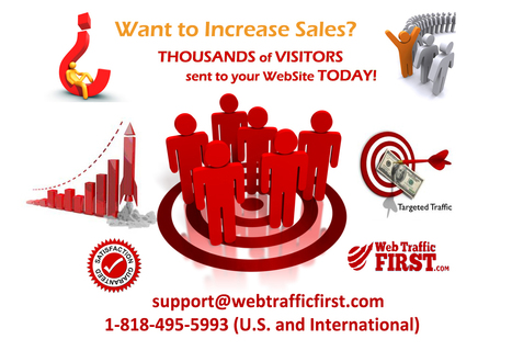 Targeted visitors for any business niche | Web Traffic First | Scoop.it