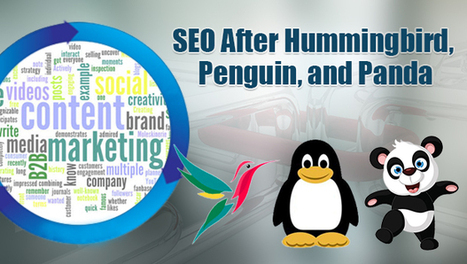 SEO After Hummingbird, Penguin, & Panda: How Link Building & Content Marketing Are Really Changing by @DholakiyaPratik | SpisanieTO | Scoop.it