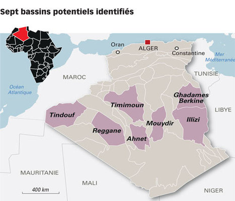 L'exploitation commerciale du gaz de schiste algérien à partir de 2022 | Energy | Scoop.it