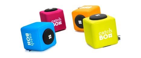 Découvrez CatchBox, le micro à lancer qui réveille l'auditoire !   Tiptop Carambar !   Scoop.it