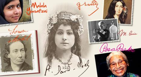 Nos portraits de femmes célèbres ! | Remue-méninges FLE | Scoop.it
