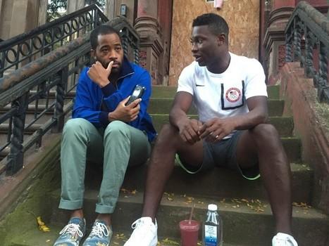 On A Harlem Stoop With An Olympian   Vie du sportif de haut niveau   Scoop.it