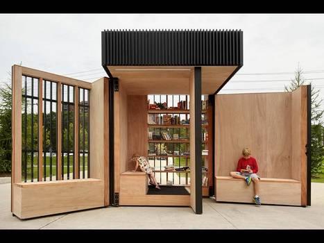 Une bibliothèque miniature sans inscription s'installe au Canada (Archimag) | Espaces de bibliothèques | Scoop.it