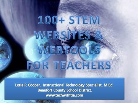 100+ STEM Websites & Webtools for Teachers - LiveBinder | Teach-nology | Scoop.it