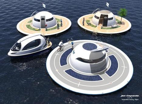 Des soucoupes flottantes pour désengorger les métropoles côtières | Post-Sapiens, les êtres technologiques | Scoop.it