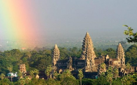 Mysterious earth mounds discovered by lasers at reveal hidden Cambodian cities of Angkor Wat | News in Conservation | Scoop.it