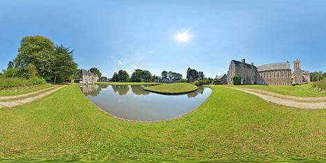Abbaye de La Lucerne  -  France par Pascal Moulin Photographe - Panorama 360 x 180° | moulin360panoramic | Scoop.it