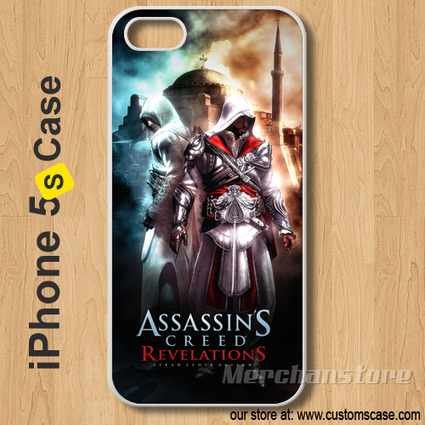 Assassins Creed Revelations Custom iPhone 5s Case Cover | Merchanstore - Accessories on ArtFire | Custom iPhone 5s Case Cover | Scoop.it