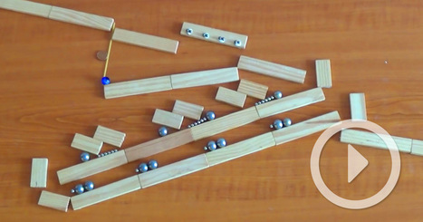 Ingenious Rube Goldberg Machines Built from Magnets and Marbles | relevant entertainment | Scoop.it