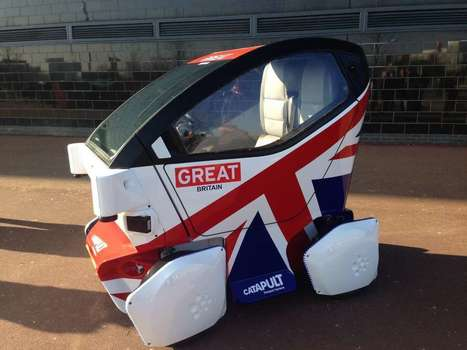 Britain Launches First Driverless Car—And It's Precious | 21st Century Innovative Technologies and Developments as also discoveries, curiosity ( insolite)... | Scoop.it