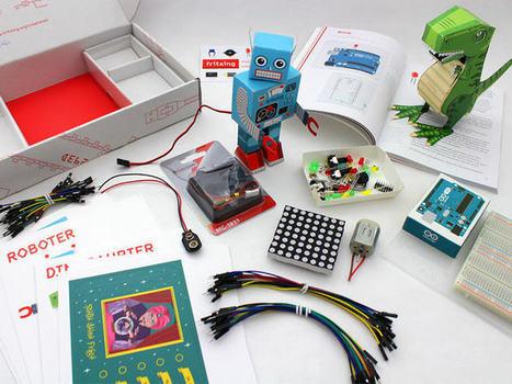 Construye un circuito con Fritzing   tecno4   Scoop.it