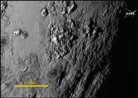 ....and here's the first high-res image of Pluto | Brian's Science and Technology | Scoop.it