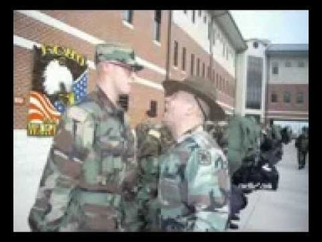 Military Videos of the World - Army Cadence Theres a Drill Sergeant There   Military Videos   Scoop.it