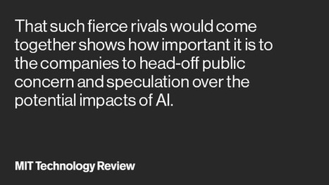 The tech industry joins forces to prevent AI from behaving badly | Entrepreneurship, Innovation | Scoop.it
