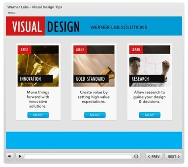 3 Visual Design Tips for Effective E-Learning » The Rapid eLearning Blog | Aprendiendo a Distancia | Scoop.it