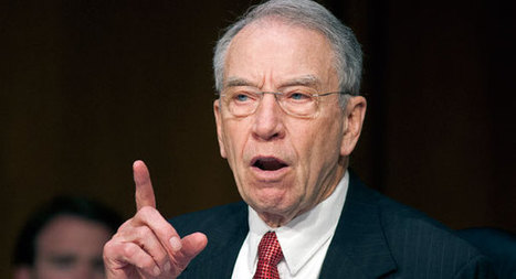 Chuck Grassley puts hold on DHS nominee - Seung Min Kim   Political News   Scoop.it