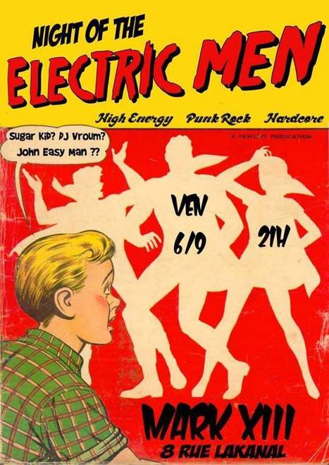 NIGHT OF THE ELECTRIC MEN!!! | Facebook | GRECOOL : Grenoble is cool | Scoop.it