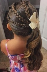 40 Cool Hairstyles for Little Girls on Any Occasion   hairsalonforkids   Scoop.it