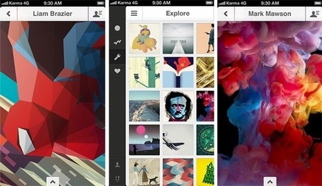 30 beautiful mobile apps for design enthusiasts - 99designs Blog | Professional Communication | Scoop.it