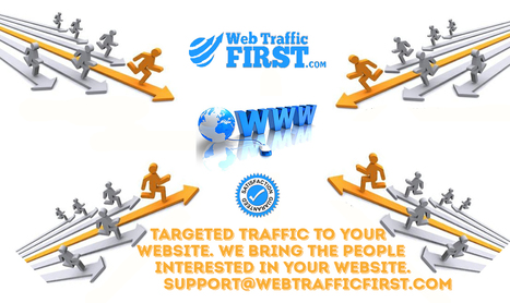The Process of getting Website Traffic | Web Traffic First | Scoop.it