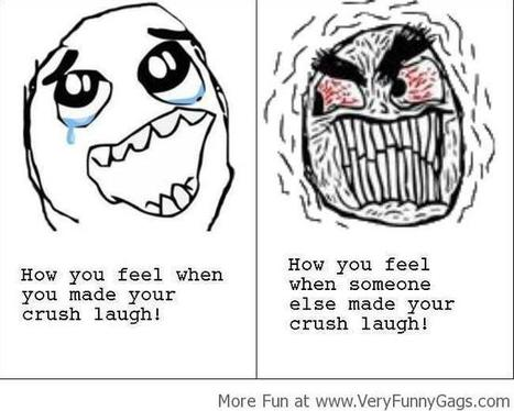 When Someone Else Makes Your Crush Laugh!   Funnygags   Scoop.it