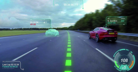 Jaguar Concept Windshield Shows Off Augmented Reality in the Car | Virtual Interaction | Scoop.it