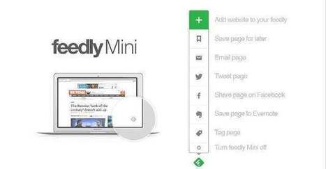 Le retour de Feedly Mini (extension Chrome) Les Infos de Ballajack | François MAGNAN  Formateur Consultant | Scoop.it