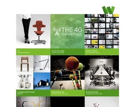 20 Excellent Portfolios and Design Agency Websites | Inspiration | deSign of the Times | Scoop.it