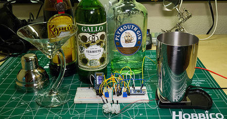 A Cocktail Shaker With Android And Arduino | Arduino Focus | Scoop.it