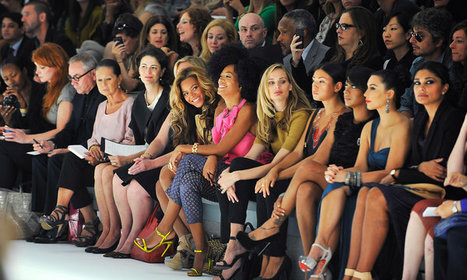 A Lot of Fuss for Just Sitting and Watching at New York Fashion Week   Fashion & Public Relations   Scoop.it