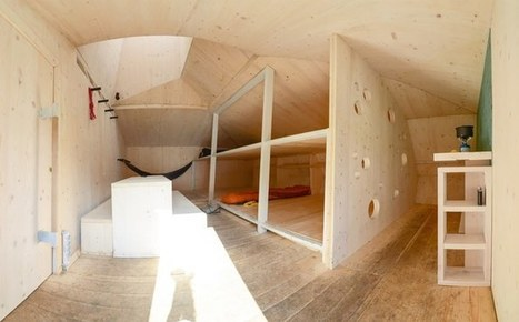 Off-grid mountain refuge provides shelter at high-altitude   Sustainable Technologies   Scoop.it