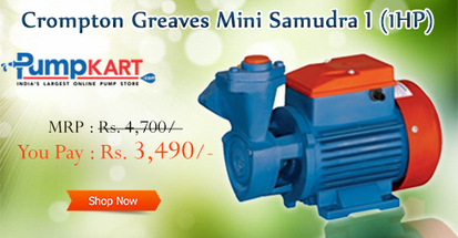 #‎CromptionGreaves‬ ‪#‎MiniSamudra‬ I (1HP) manufacture with compact design,… | Domestic Water Pumps | Scoop.it