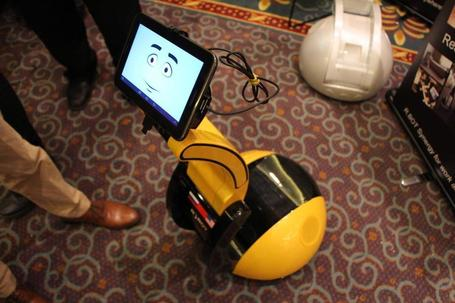 This telepresence robot is powered by a smartphone or tablet | Technoculture | Scoop.it