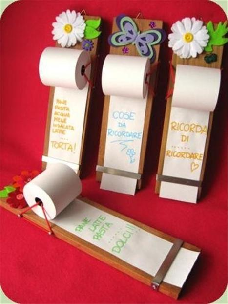 Paper roll notes   Formidable ideas   Scoop.it