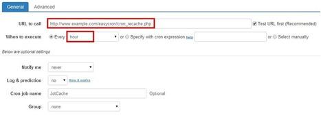 How to set up cron job for JotCache   QL-Joomla   Scoop.it
