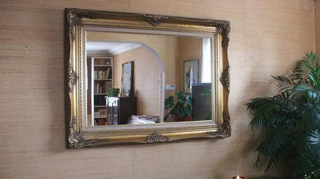 Détourner une toile de peinture en miroir | Ma maison doHit Belgique | Scoop.it